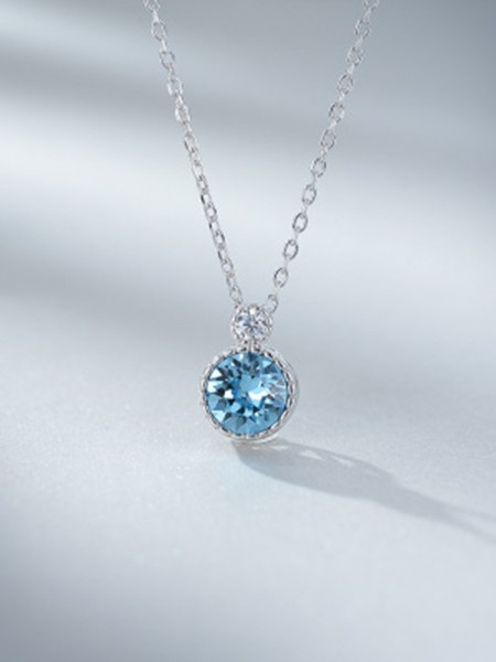 Fashion 925 Sterling Silver Ladies's Necklaces