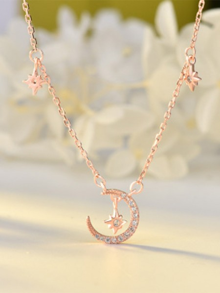 Charming S925 Silver Women's Necklaces