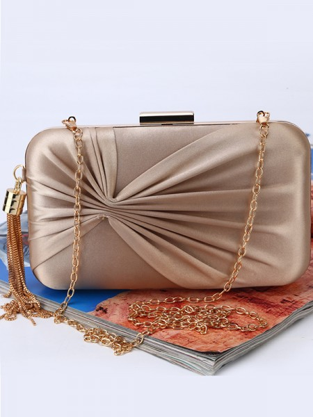 Women's Ruched Wedding/Party Handbags