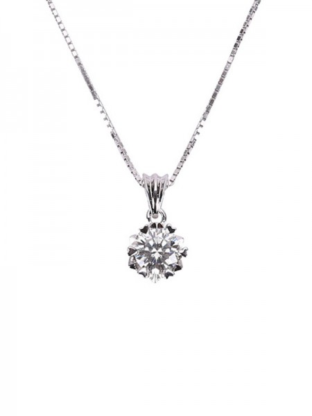 Simple S925 Silver Women's Necklaces