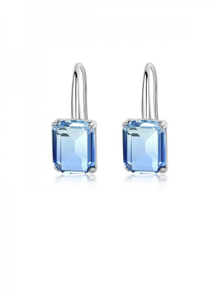 Trending Women's Zircon With Crystal Earrings