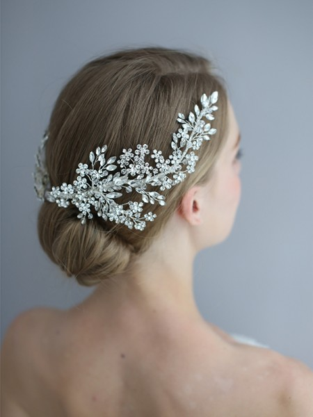 Very Amazing Czech Rhinestones Bridal Headpieces