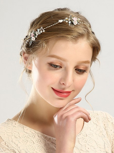 Glamorous Czech Pearl Wedding Headpieces